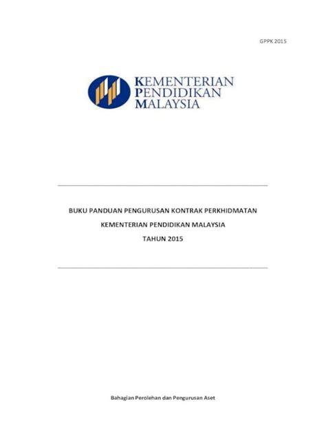 contoh surat penamatan kontrak perkhidmatan pembersihan