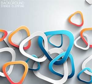 3D Paper background vector design 07 | Free download