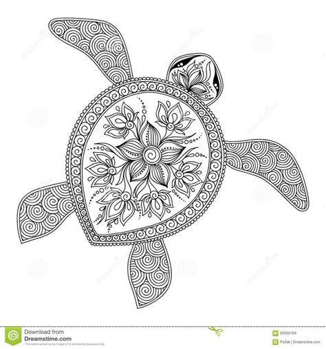 sea turtle pictures  coloring pages putacoolor adult