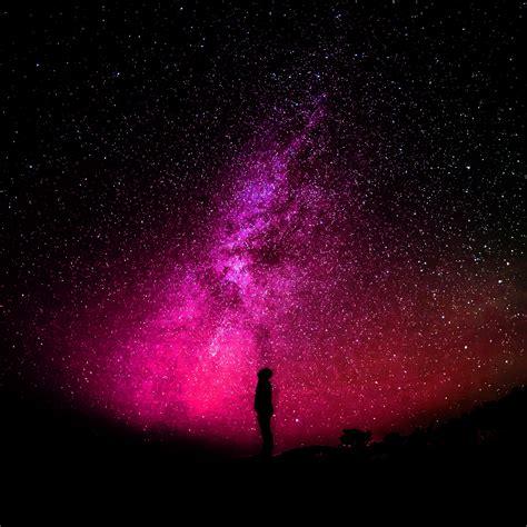 星空の赤い銀河 Ipadタブレット壁紙ギャラリー