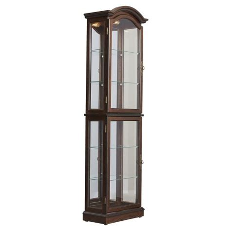 lighted curio cabinet for sale lighted curio cabinet with under cabinet types of lights