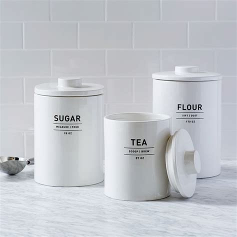 kitchen flour canisters win your cleaning with these kitchen storage
