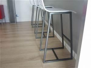 Chaise Haute Plan De Travail : chaises haute plan de travail cuisine menuiserie ~ Edinachiropracticcenter.com Idées de Décoration
