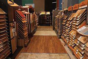 Interesting Flooring Store With Neat Flooring Material