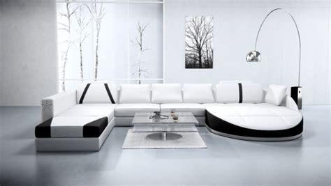 canaper dangle biały salon w nowoczesnym stylu