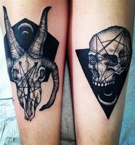 animal skull tattoo designs