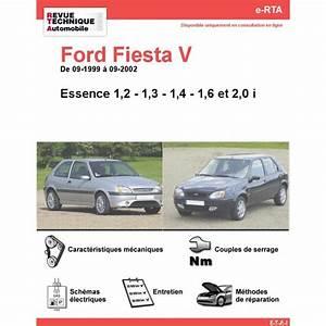 Entretien Ford Fiesta Courroie De Distribution : revue technique ford fiesta v essence rta site officiel etai ~ Gottalentnigeria.com Avis de Voitures