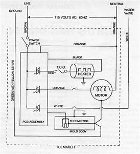 Ge Im6 Icemaker Schematic Diagram