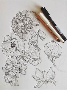 flower drawing | Tumblr | Drawing | Pinterest | Drawings