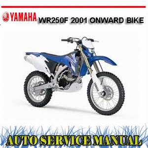 Yamaha Wr250f 2001  Bike Workshop Service Repair Manual