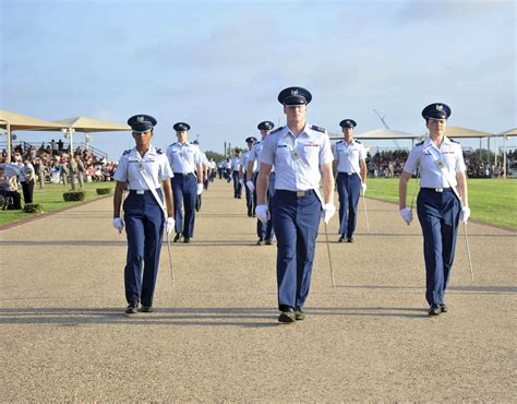 leading   academy cadets develop leadership