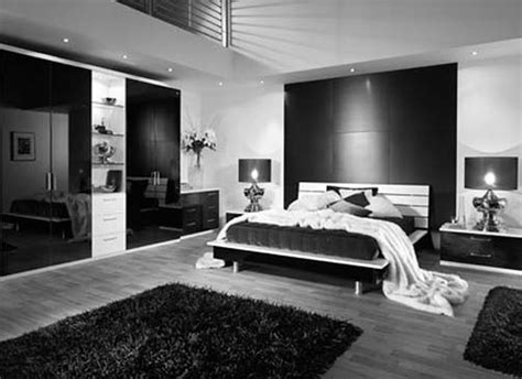 Bedroom Black And White Color by Absolutely Spectacular Modern Black And White Bedroom