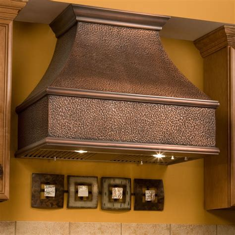 """48"""" Tuscan Series Copper Wall Mount Range Hood with"""