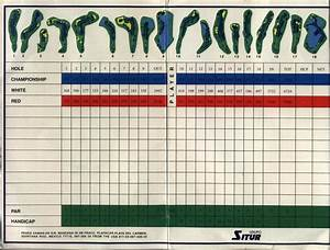 Hard Rock Golf Course, Riviera Maya - Maps, Ratings, Tee ...
