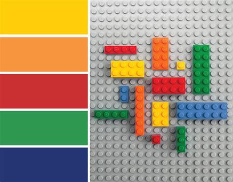 lego colors color inspiration lego 174 bricks merriment design