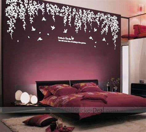 bedroom wall decor stickers s garden wall stickers wallstickerdeal