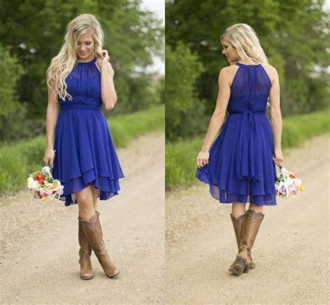 Western Wedding Bridesmaid Dresses Reviews Online