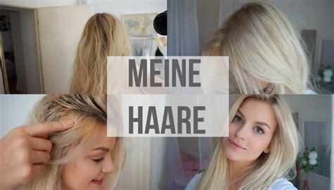 haare natürlich blondieren meine haare selber blondieren gelbstich friseurbesuch