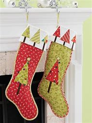 free quilted christmas stocking patterns