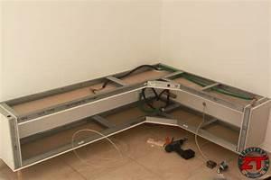 Idee Meuble Tv Fait Maison : tuto cr ation d 39 un meuble tv en placo ~ Melissatoandfro.com Idées de Décoration