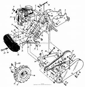 Garden Tiller Parts Diagram