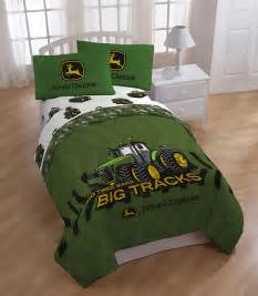 john deere big tracks full sheet set ebay