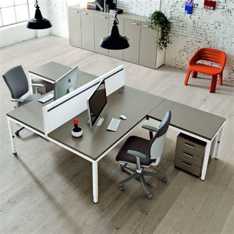Mit Arbeitsinsel by Frezza Link 2er Arbeitsplatz In L Form Mit Schreibtisch