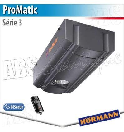 Moteur Promatic Série 3 + Télécommande Hse 2 Bs