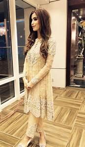 New Party Wear Dresses Girls 2017 Pakistan Chiffon Silk Capri Kurti Frocks Saree Embroidered