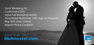 Use bulk sms for wedding invitations how to send bulk sms for Wedding invitation bulk sms sample