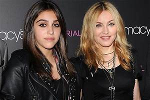 Madonna's Daughter Lourdes Photographed Smoking