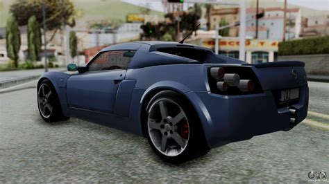 Opel Speedster Turbo by Opel Speedster Turbo 2004 Stock For Gta San Andreas