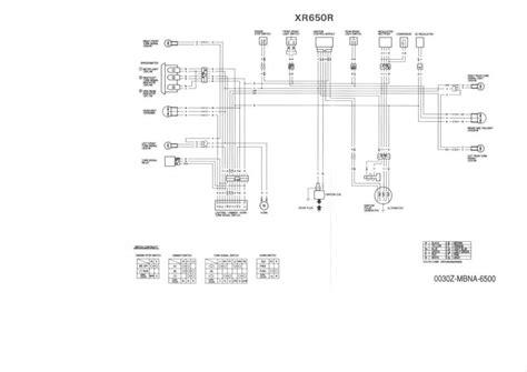 Honda Xr650l Wiring Diagram by Xr650r Wiring Diagram Wiring Diagram