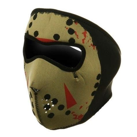Jason Glow in the Dark Neoprene Ski Mask Full Face