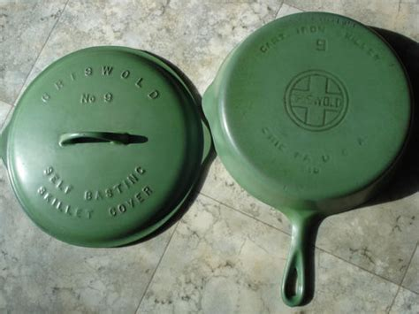 enameled cast iron  cast iron collector information