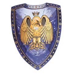 holzspielzeug küche liontouch 1622 quot golden eagle quot premium soft line ritterschild 42x32cm adler gold blau 1 stück