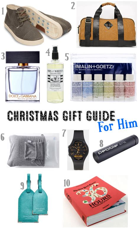 christmas gift ideas for a seasoned traveller for him