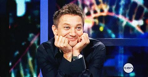 Happy Jeremy Renner Gif  Find & Share On Giphy