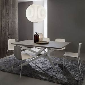Table Salle A Manger Design : table salle a manger extensible renzo zendart design ~ Teatrodelosmanantiales.com Idées de Décoration