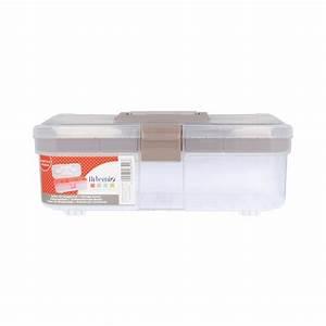 Boite De Rangement Pour Verres à Pied : bo te de rangement en plastique 34 8 x 15 2 x 12 8 cm ~ Teatrodelosmanantiales.com Idées de Décoration
