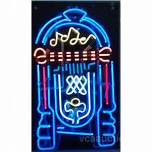 Jukebox Neon Sign In Plastic Box