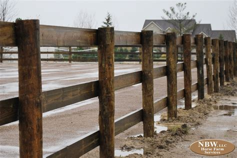 How To Build A 3 Rail Wood Fence