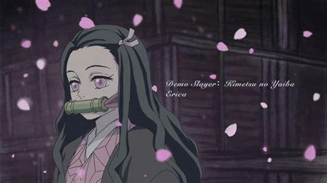 Demon Slayer Nezuko Kamado With Pink Eyes And Long Hair Hd Anime Wallpapers Hd Wallpapers Id
