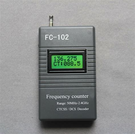 Frequency Meter Ctcss Dcs Scanner For Ham Radio