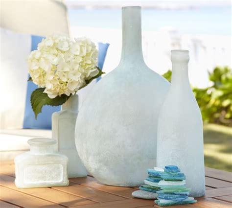 sea glass bottles set   pottery barn