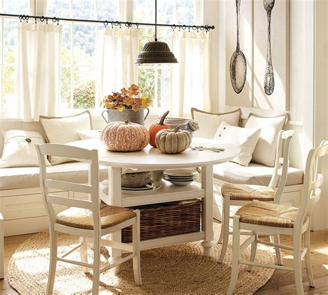 kitchen breakfast nook furniture creating your dream decor with pottery barn inspiration