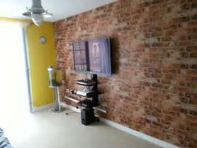 living room with brick wallpaper 157 best brick wallpaper images on pinterest
