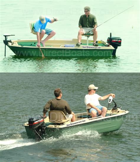 Sun Dolphin Boats Reviews by Sun Dolphin Pro 120 Fishing Boat Review