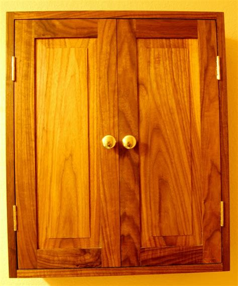 How To Make Raised Panel Cabinet Doors With A Router by Custom Black Walnut Wall Cabinet With Raised Panel Door