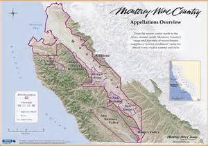 Monterey County California Map